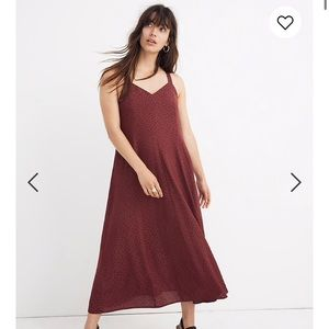 NWT Madewell Cami Maxi Dress